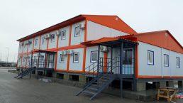 Модульное двухэтажное здание