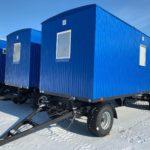 Жилые вагон-дома на шасси для ИТР на 4 человека